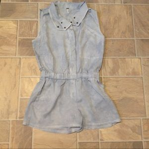 YFB BY YOUNG FABULOUS & BROKE RODEO UTILITY ROMPER